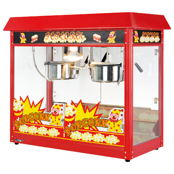 Double-Kettle-Popcorn-Machine