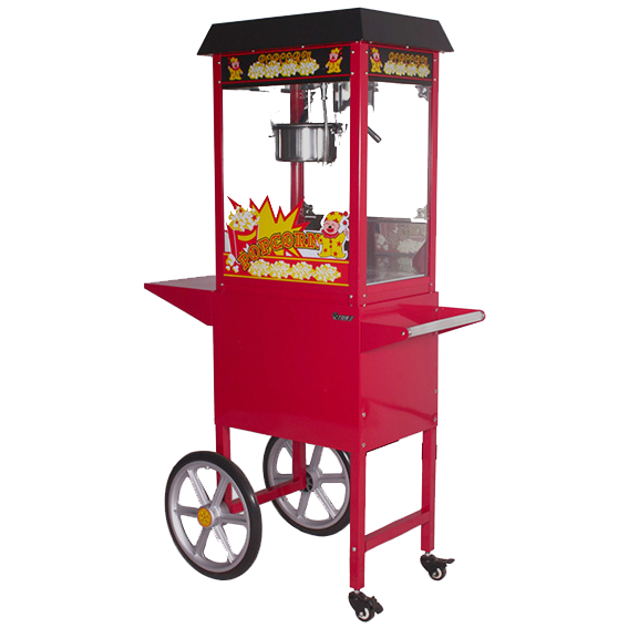 Popcorn-Machine-with-Cart